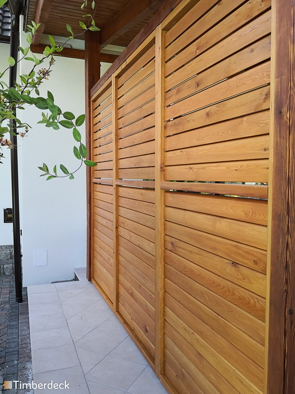 shuttersy na taras Timberdeck