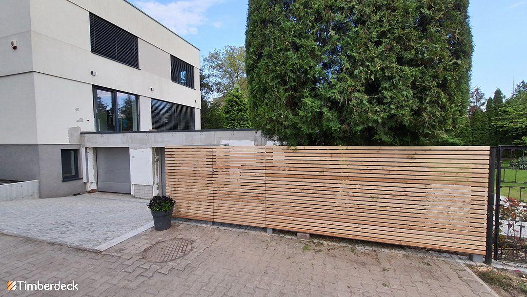 ogrodzenie drewniane Wrocław