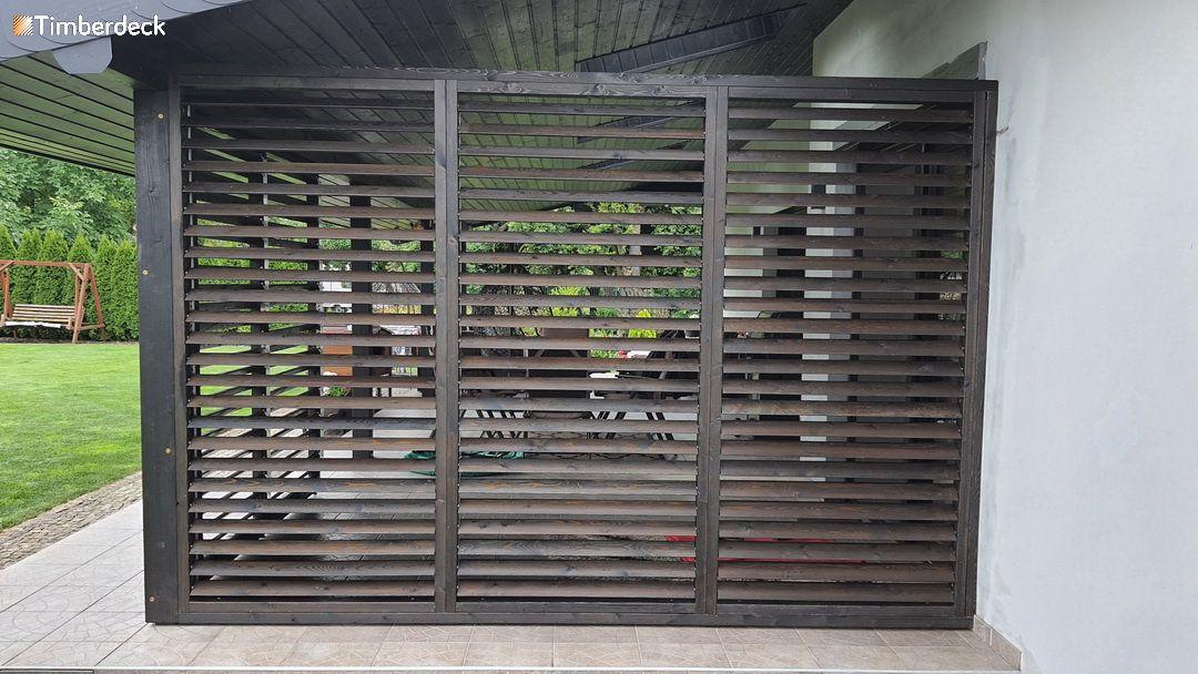 Timberdeck mechanizm ruchomych deseczek